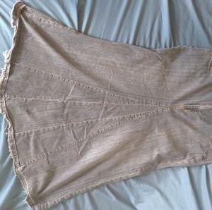 A.N.A A New Approach Long Denim Skirt Sz 12